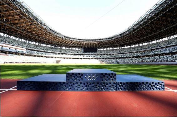 podio juegos olimpicos